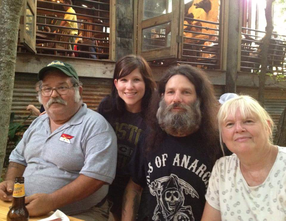 Family time at Gristmill River Restaurant in New Braunfels