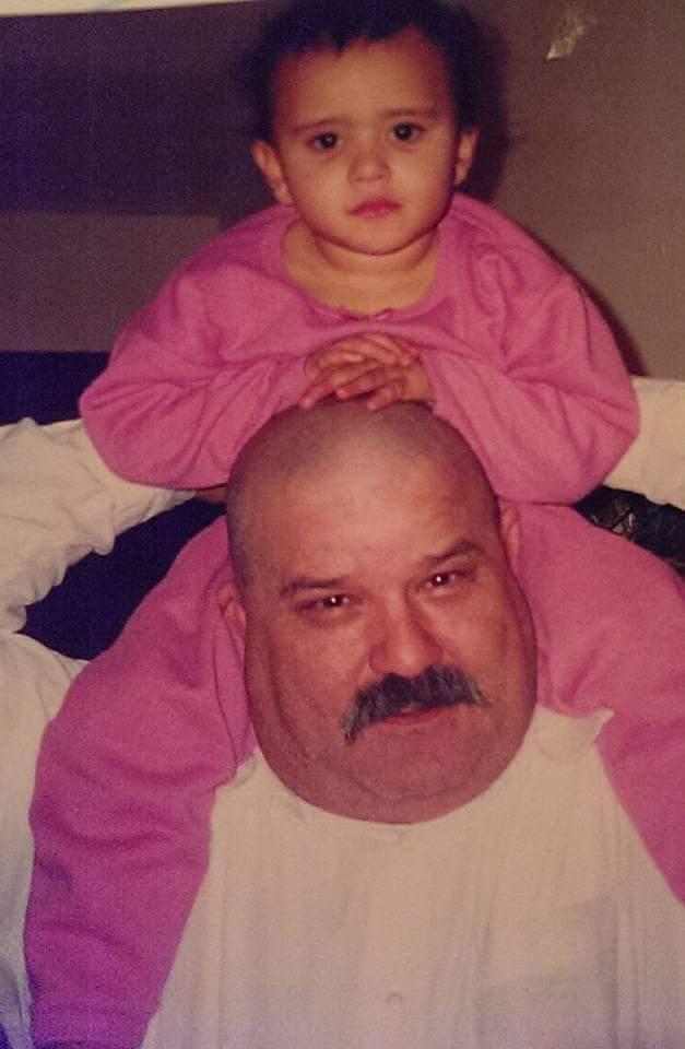 Grandpa Jose and Maya
