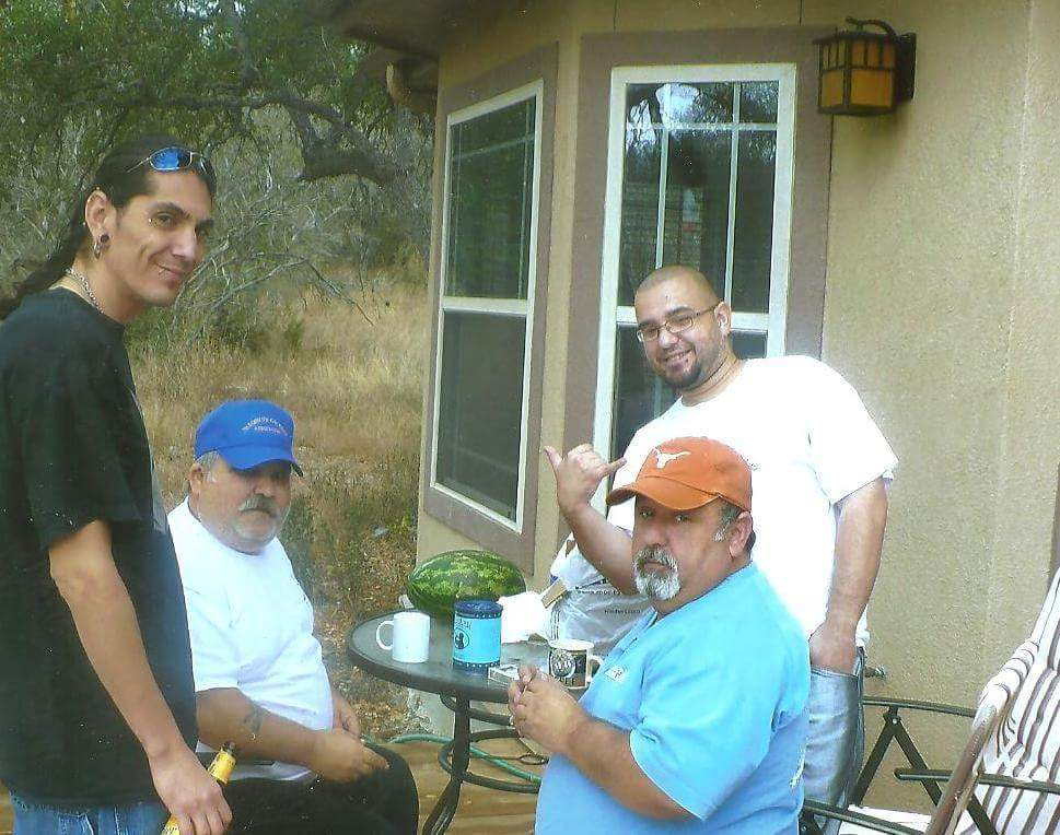 Jose With brother and nephews