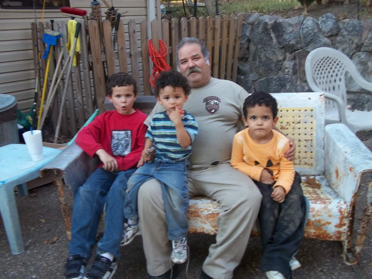 Jose & his grandsons