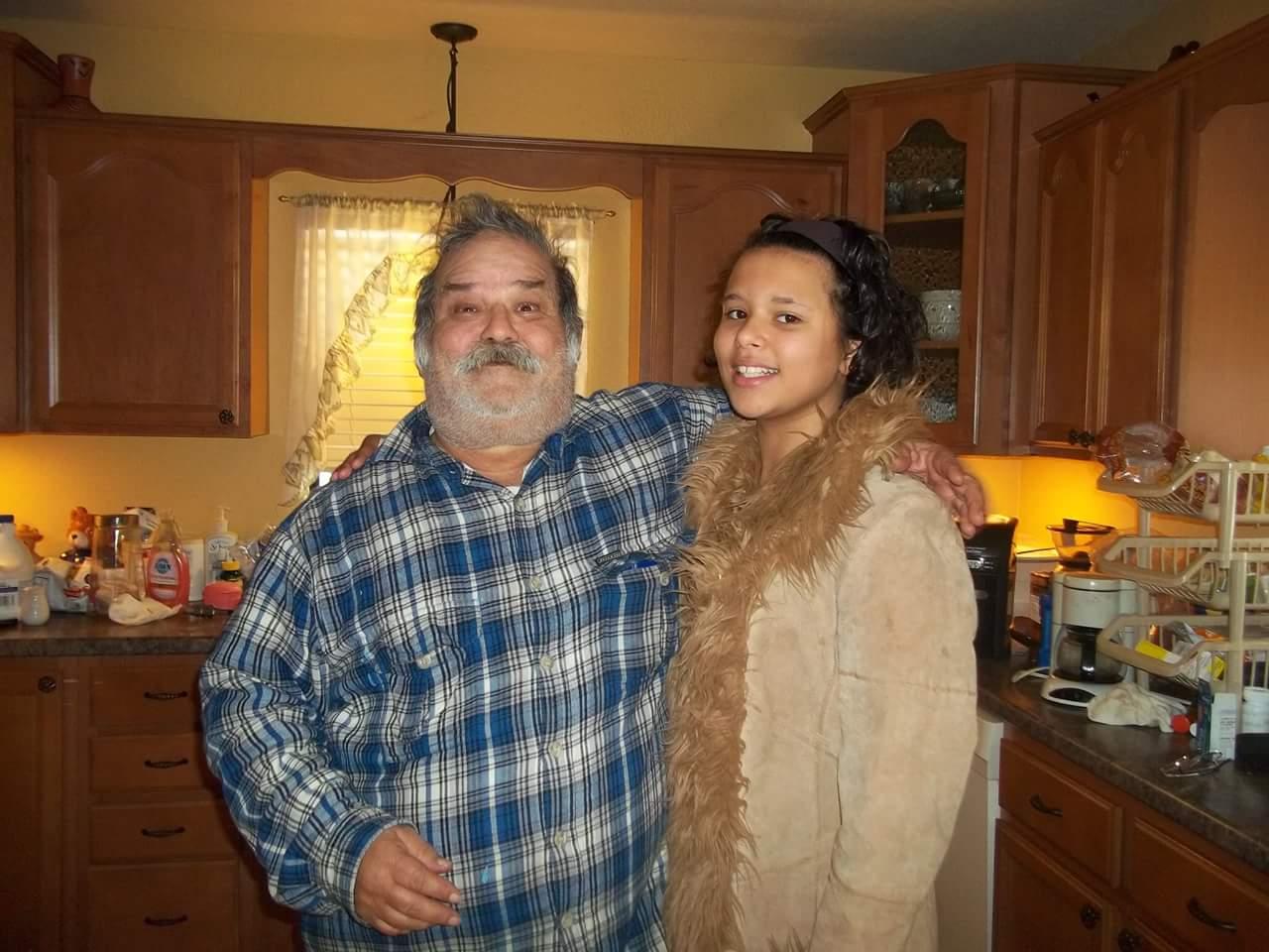 Jose with grand daughter Maya