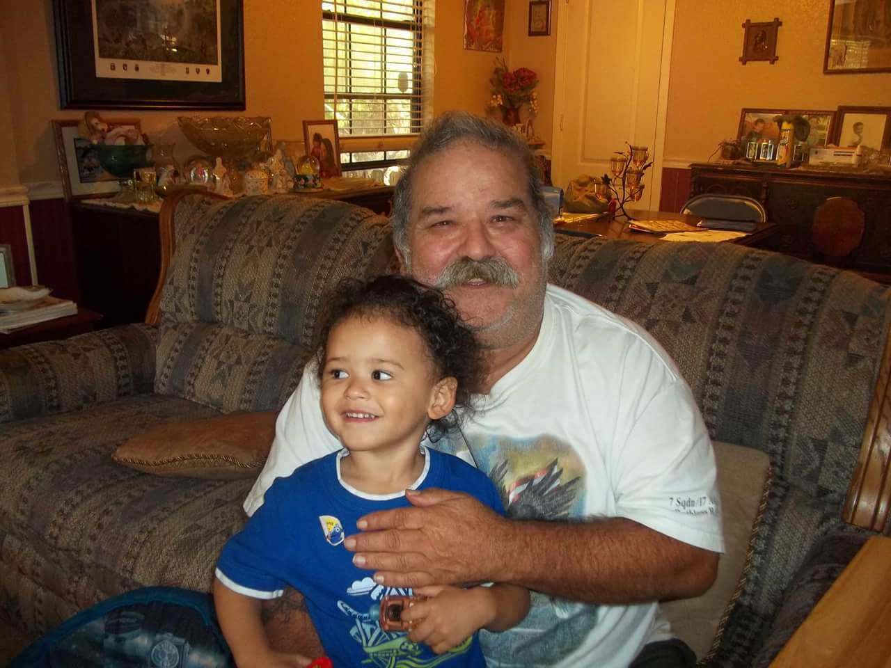 Jose with grand son Keaden
