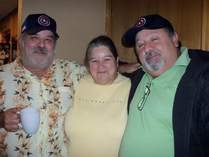Jose with his siblings Belda & Jorge