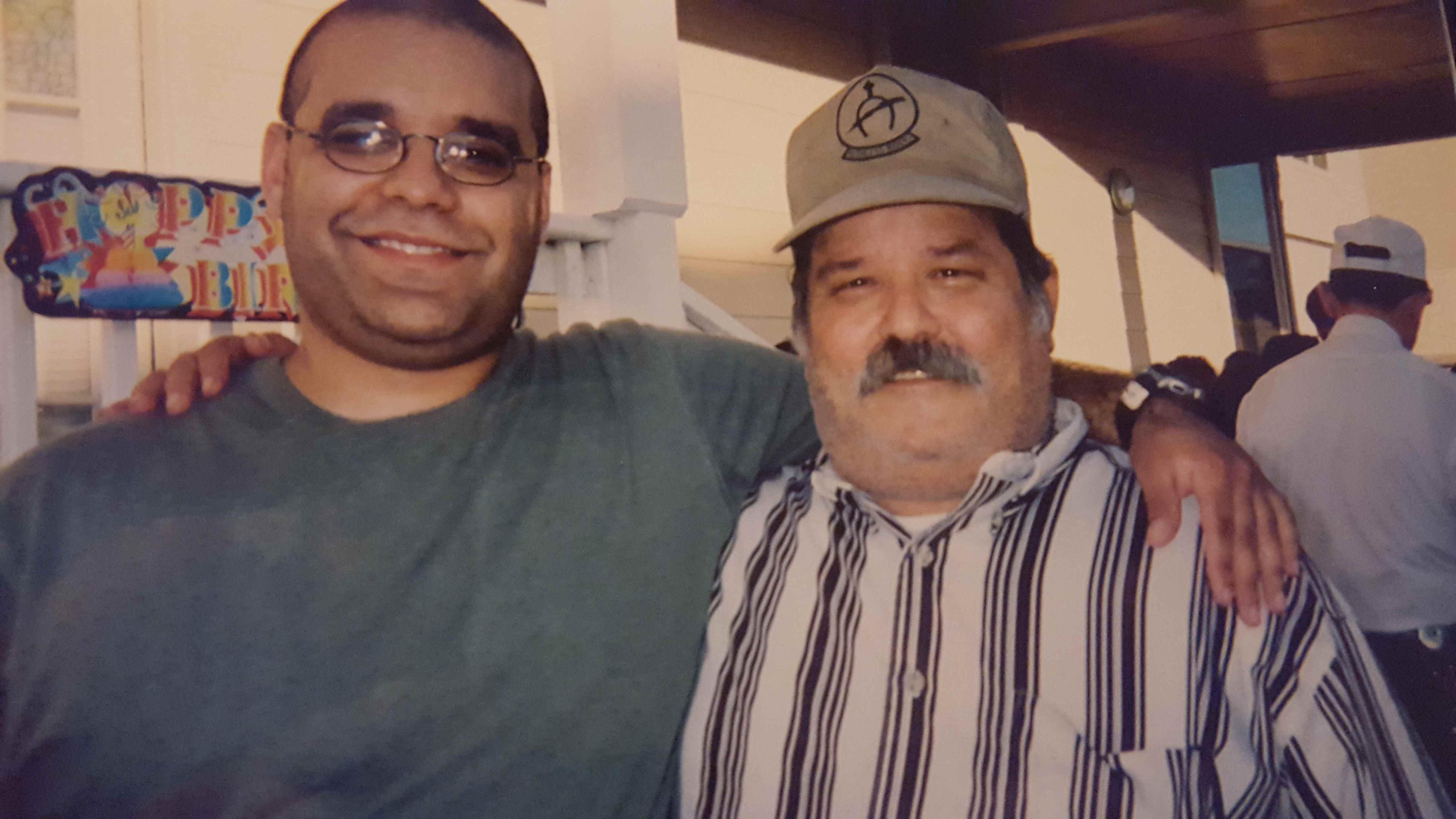 Jose with nephew Eloy