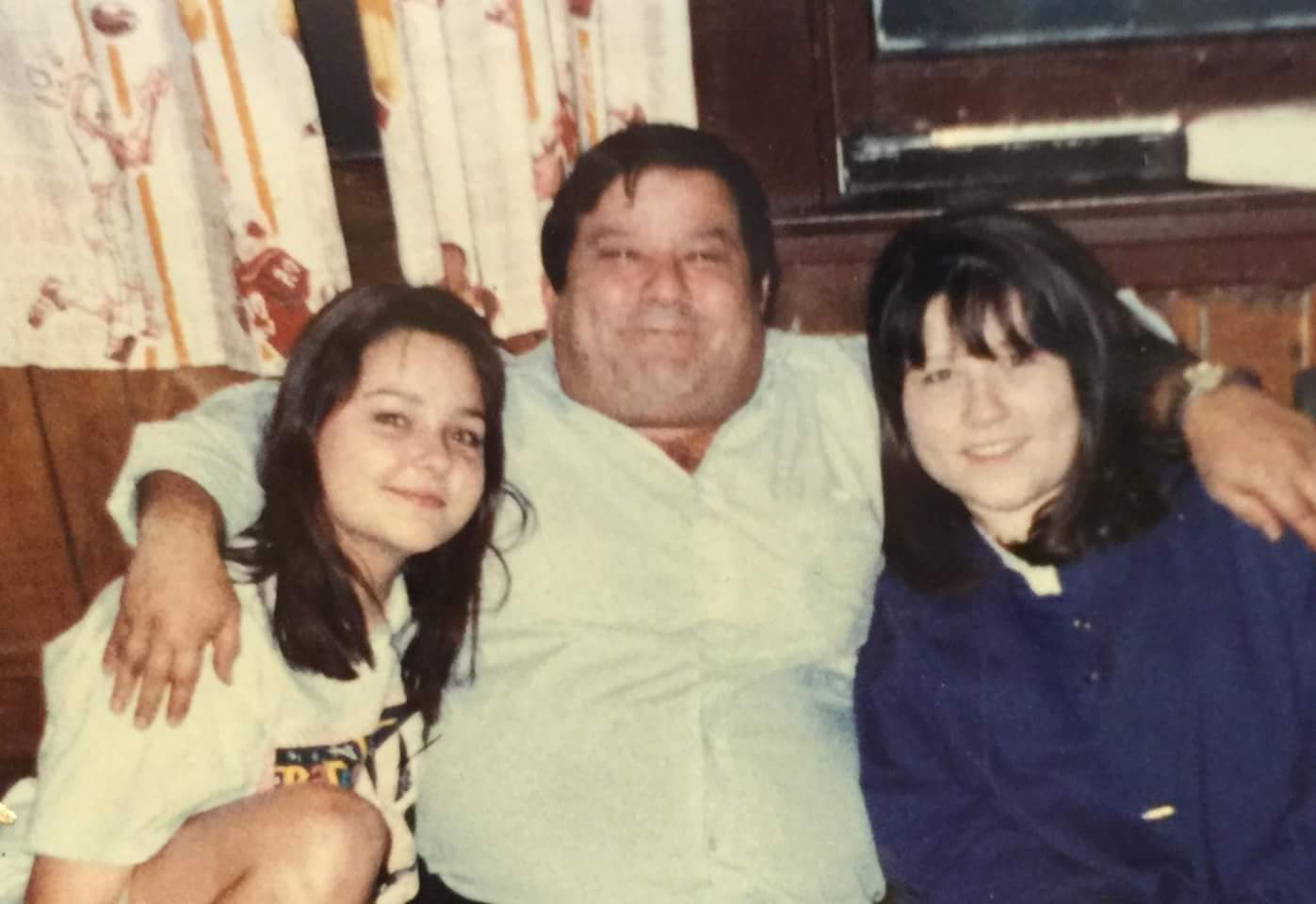 Jose with two of his favorite girls