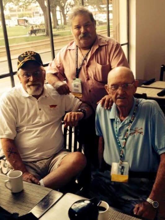 Ruthless Riders Bruce Carlson, Jose, Bob Wise